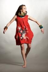 robe tunique en lin