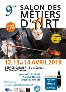 Affiche Salon des Métiers d'Art 2019